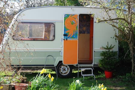 Groovy wee 14 foot, 2 berth caravan - Inny