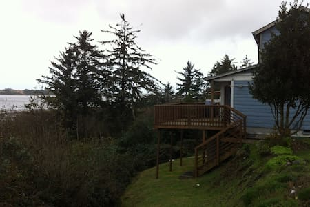 Beach House Along Coos Bay  - House
