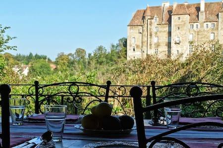 Château Vue Boussac - Terrasse - Boussac