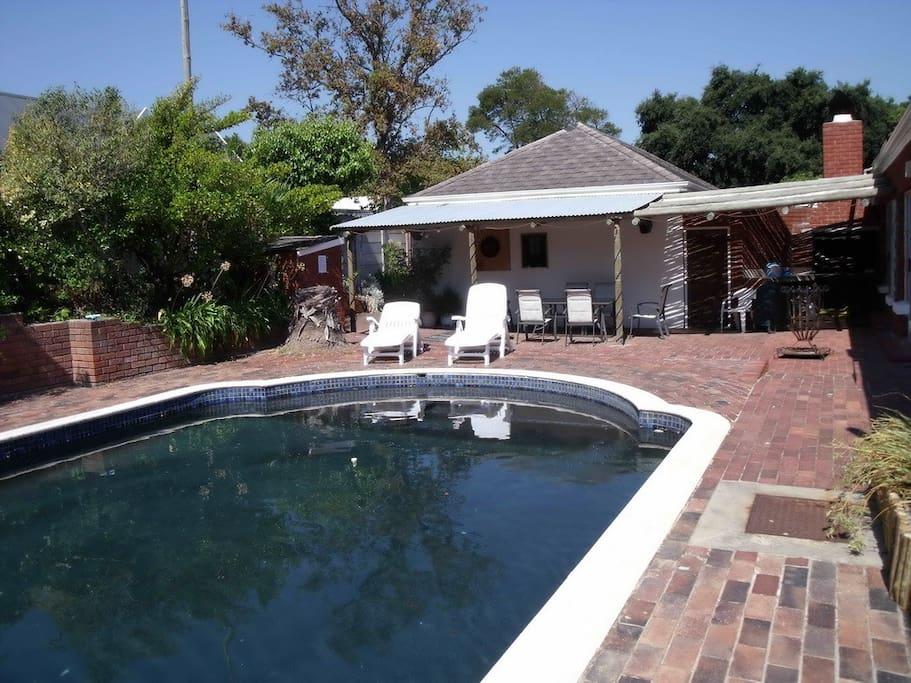 Communal Pool & BBQ/ Braai area