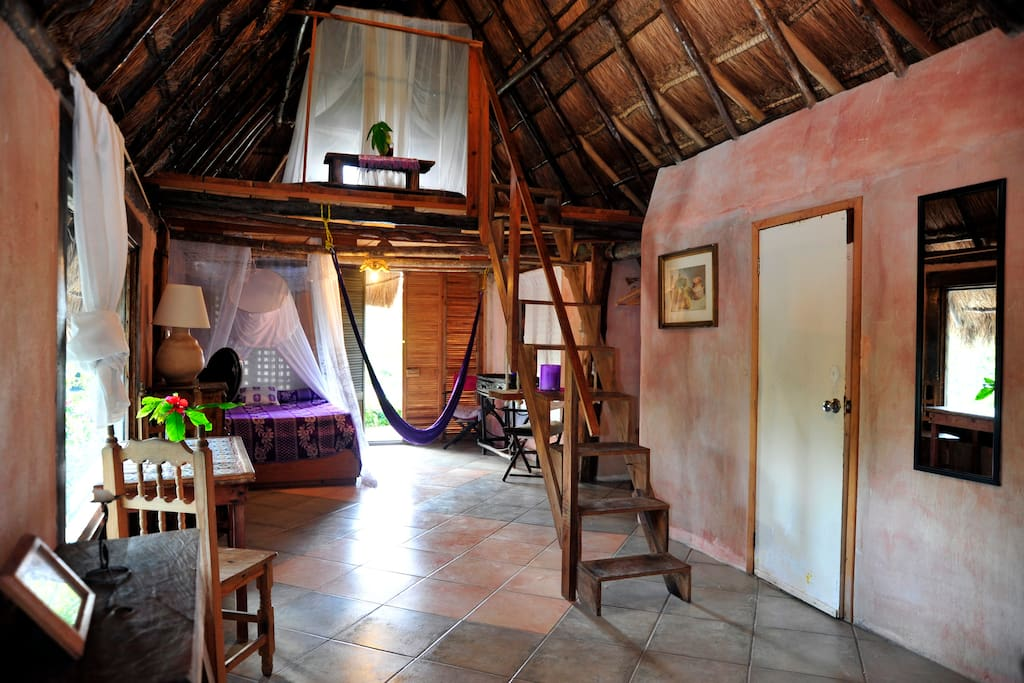 Casitas kinsol - Room #4 - An ample room with a mezzanine -