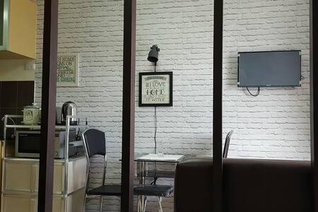 1br condo in Wharton Condo nr SLU Bakakeng - Baguio - Condominium