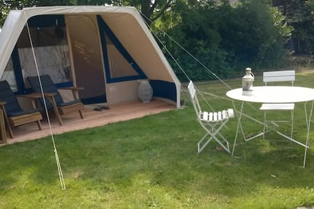 Glamping in de tuin(3) - Appartement