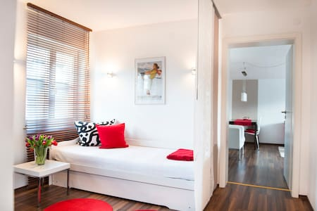 Red apartment - Landhaus Wagner - Garmisch-Partenkirchen - Apartment