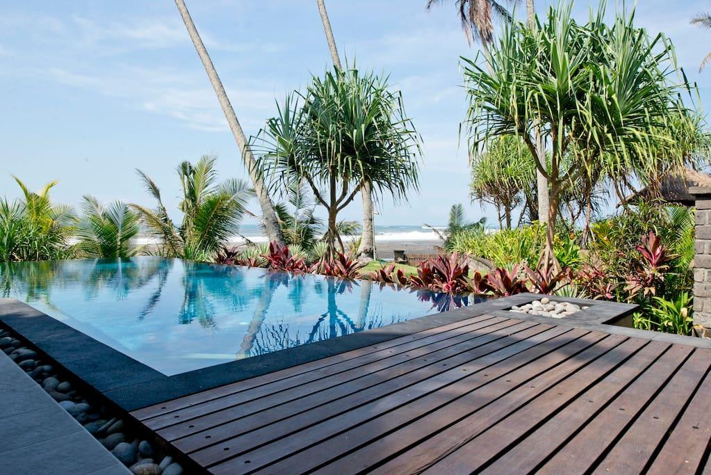 The Beach House, at Balian Beach