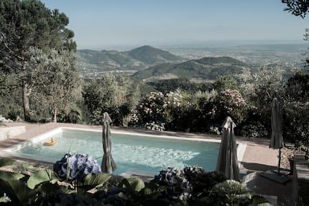 Large Hillside Mansion - Breathtaking Tuscan view - Casore del Monte - Villa