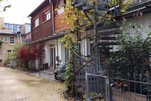 Hinterhof-Idylle in der Südstadt