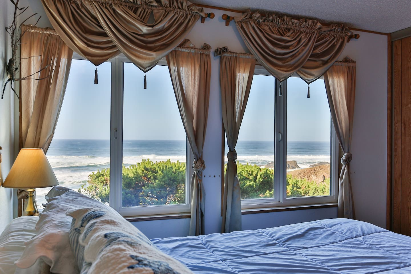 Wake up to this view!  King Bed.