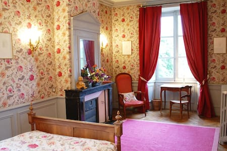 Luxurious Room in 18th C Chateau - Bed & Breakfast