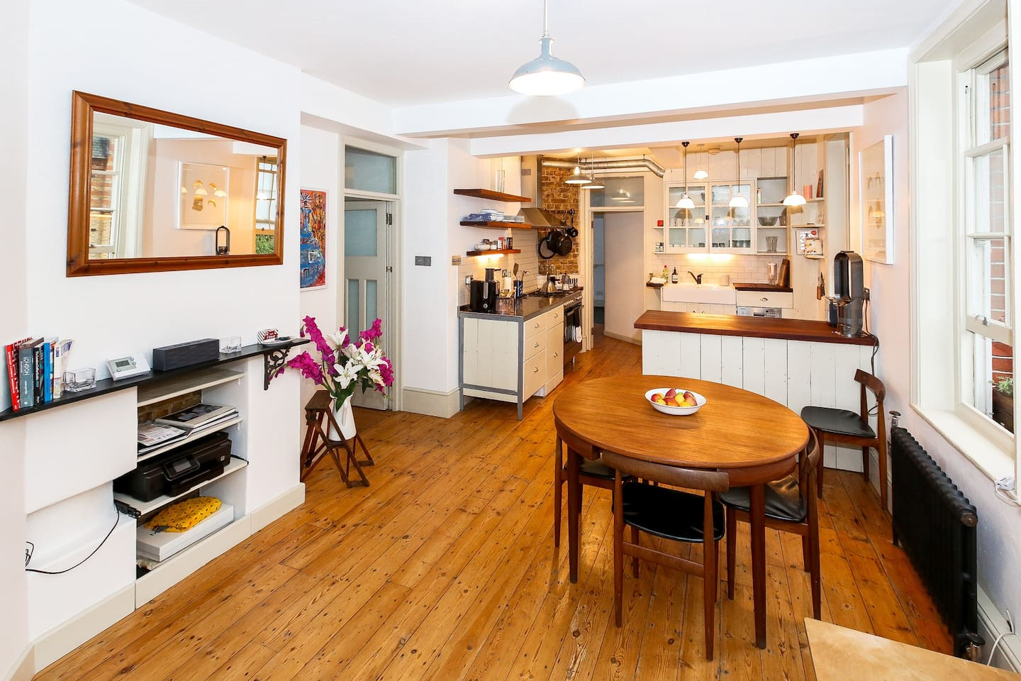 OPEN PLAN KITCHEN / DINING ROOM / LOUNGE