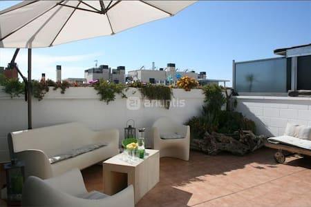Fantástico Atico-duplex en Zaragoza - Apartament