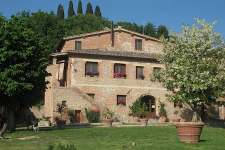 Apartment in Tuscan farm house. - Bed & Breakfast