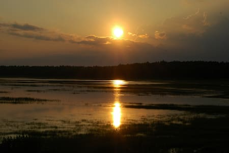 House on marsh, sunsets, wild life - Marion - House
