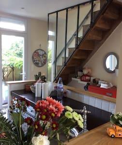 Intérieur cosy, terrasse et jardin agréable en été - Haus