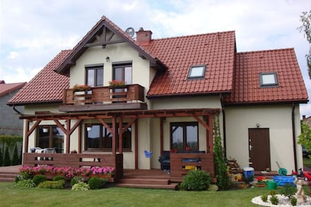 Beautifull house 10km from downtown Warsaw - Ev