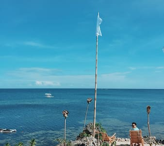 Bamboo Cogon Kubo Hut at Birdland Beach Club - Bolinao - Cabin