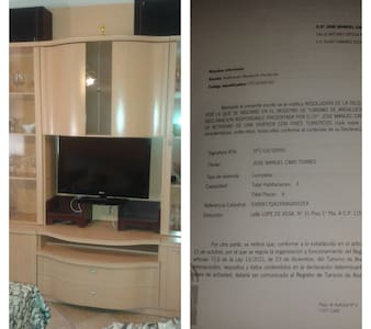 PISO 1ª PLANTA INDEPENDIENTE EN CENTRO CON GARAJE - Appartement