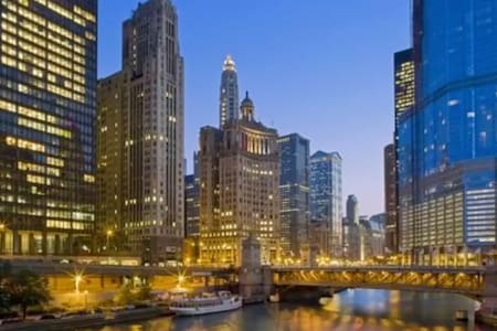 Gorgeous Private Room in Near Willis Tower - Chicago - Apartment