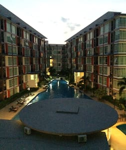 One bedroomCondo at East Pattaya (33 sqm) CC Condo - Muang Pattaya