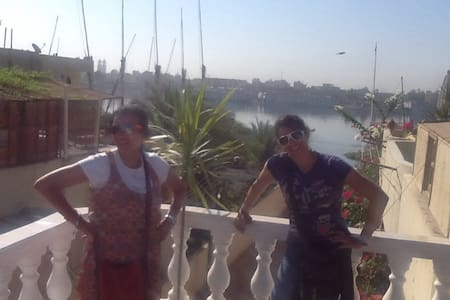 Nile view & Sunny rooftop apartment - Apartment