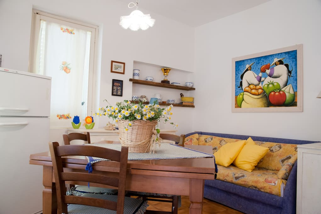 Apartment with garden in Punta ala