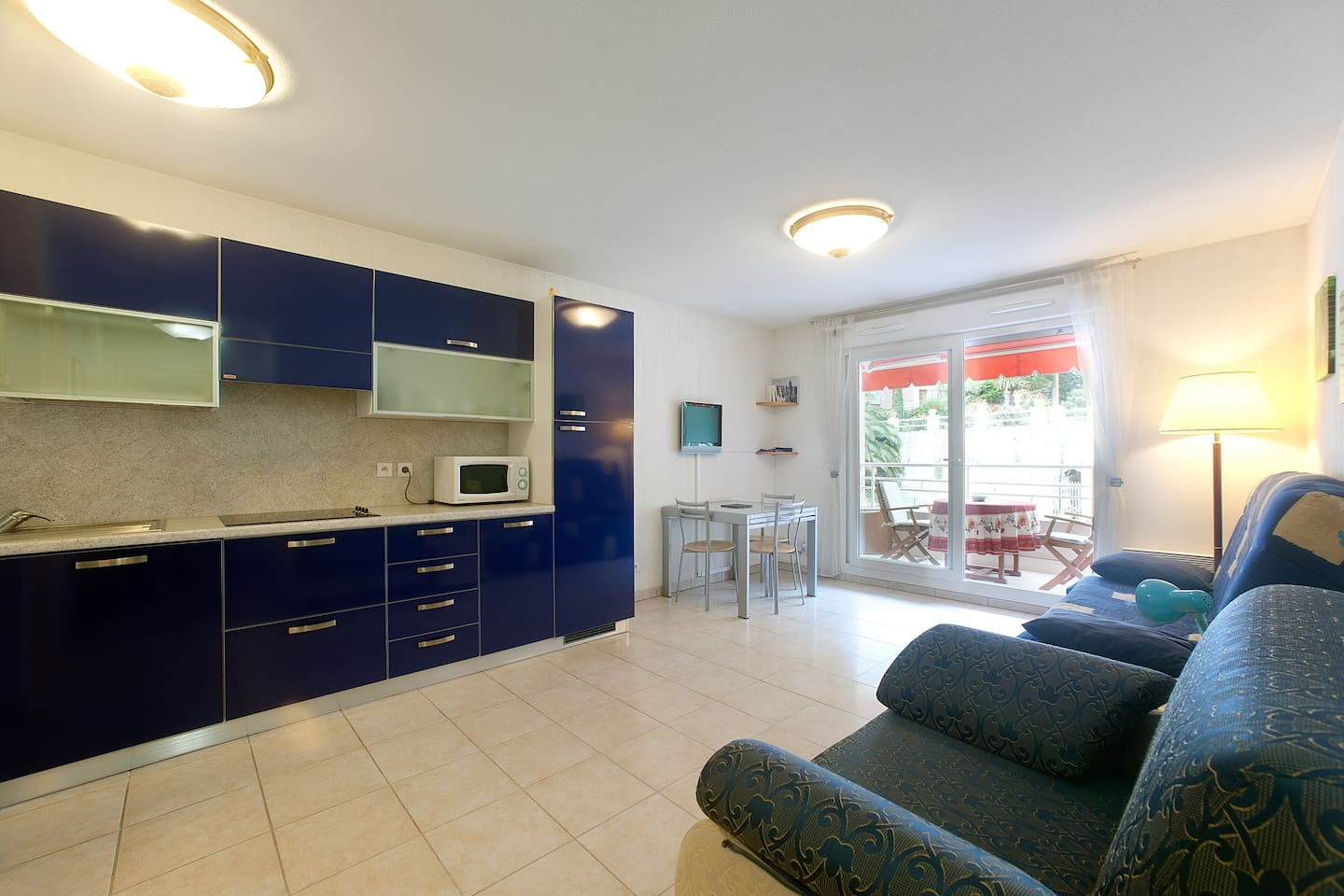 Beautiful studio flat in Menton