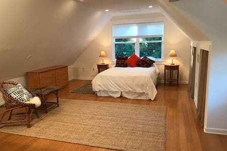 Spacious Studio in Nature Yet Convenient to DC - Harwood - Daire
