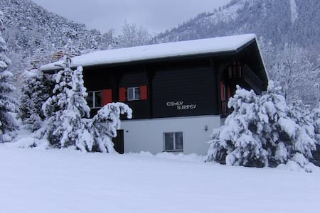 4 Pers. Appartement in Chalet - Ried-Brig