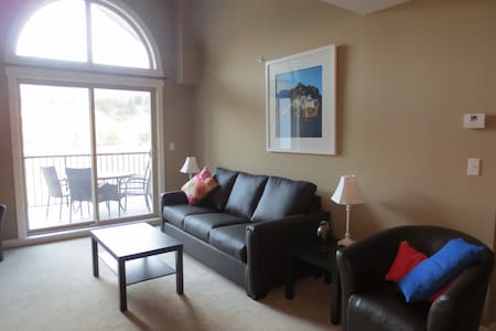 Lovely Two Bedroom, Two Bath Condo - Invermere - Appartement