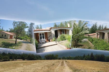 Villa La Lurette 2 à 8 pers Alpes de H.Provence - Saint-Étienne-les-Orgues - Villa