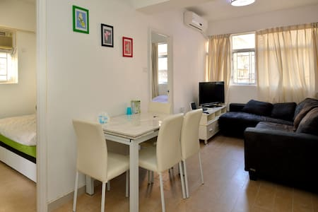 Top Kowloon 2-BR Apartment for 5