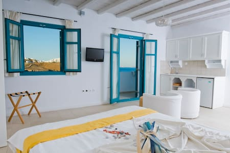 Astypalaias appartement-best view of aegean sea
