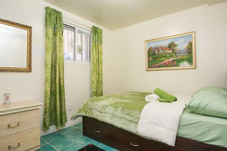 Exclusive Green Bedroom, Brooklyn