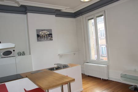 Appart Haussmannien centre ville - Appartement