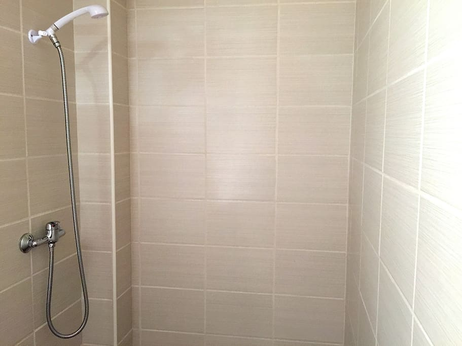 Large walk in shower. Yes we are approved and inspected for tourism rentals