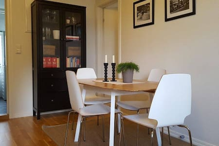 Modern apt. w/ two bedrooms 5 minutes from Bryggen - Wohnung