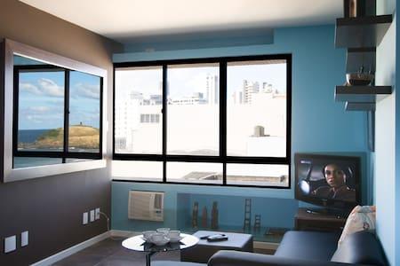 Upscale oceanfront 1 bdrm in Barra - Salvador - Apartment