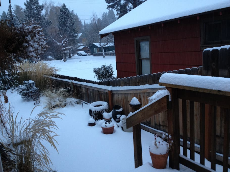 First snow of the year.