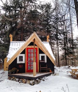 Magical Cozy Vermont Cabin & Sauna - Marshfield - Casa