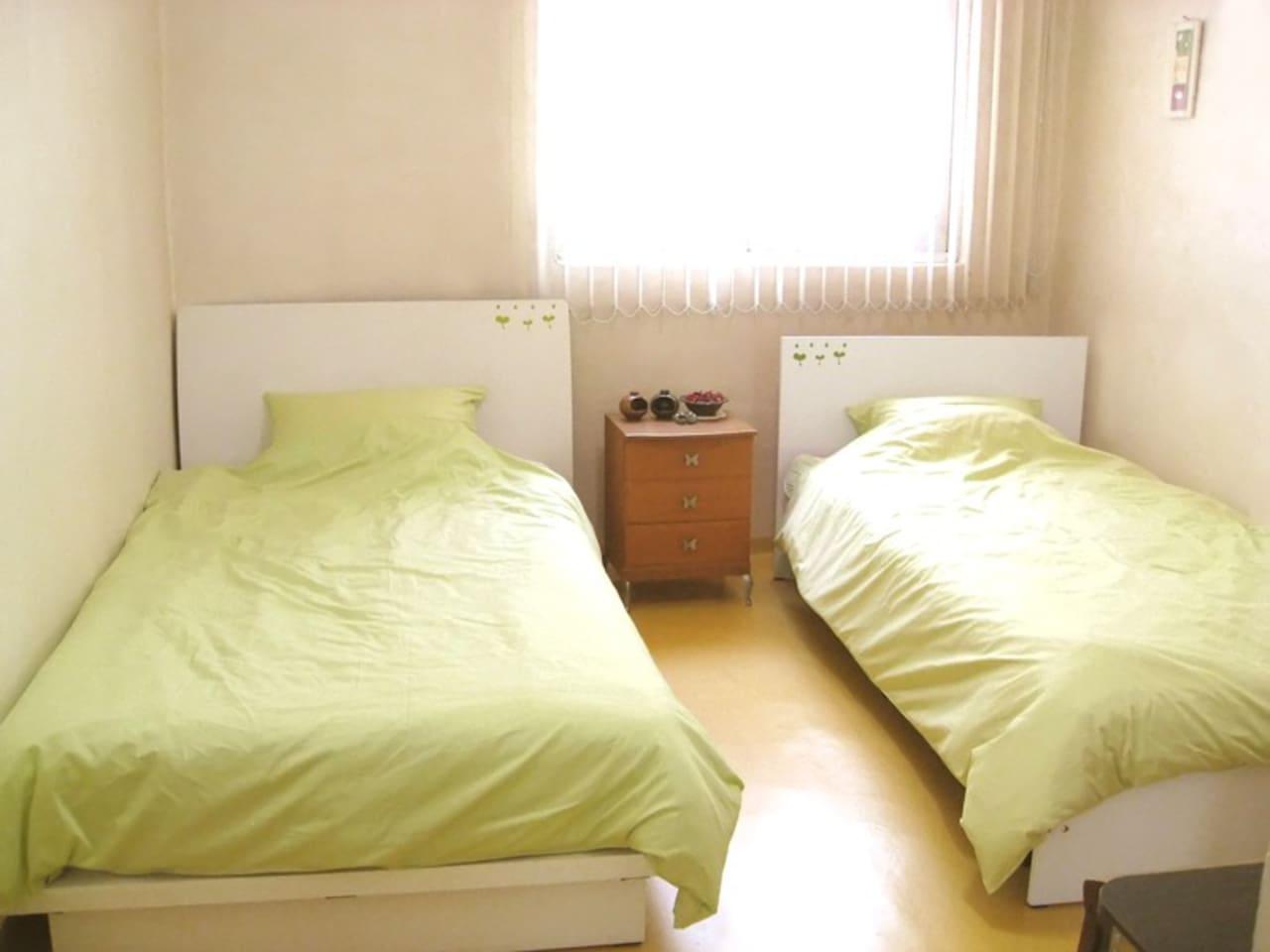 super single bed & single bed ~