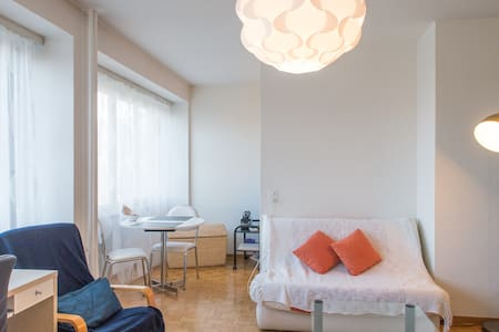 Light, equiped, cosy apartment GVA