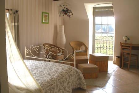 1 Chambre hôte  maison de charme  - SENDETS - House