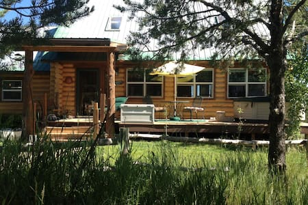 Charming Private Westcliffe Cabin - Dom