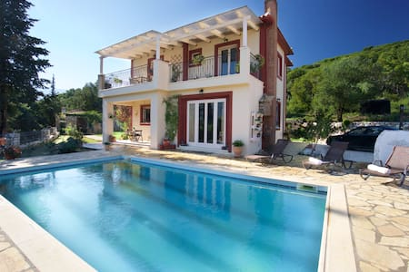 Astonishing Sea View Villa Melisani - Cephalonia - Willa