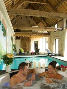 Week-end Love & Spa à Soissons (02) - Noyant-et-Aconin - Oda + Kahvaltı