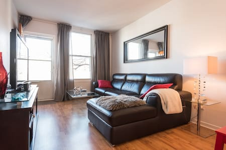 Super! 3-1/2, 10 min Downtown!! - Montréal - Apartment