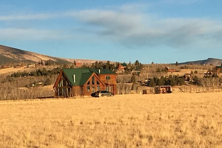 2 Rooms in Log Cabin Style Home - 25 min to Breck - Fairplay - House