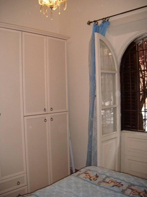 Armadio Camera Matrimoniale Azzurra