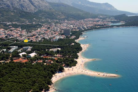 6 Sea,mountain and love plus FREE Night - Makarska - Apartamento