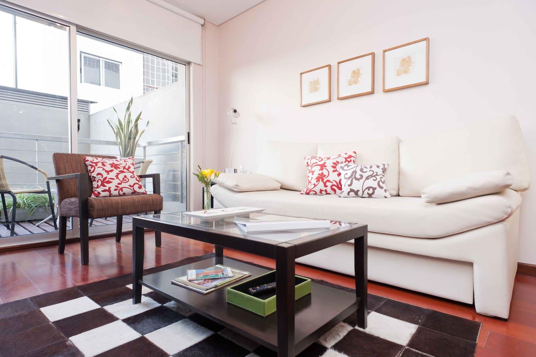 Quiet one-bedroom apartment in Barrio Norte / Recoleta